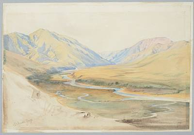 Mataura Gorge, Southland, 1866 , By Nicholas Chevalier. Poster
