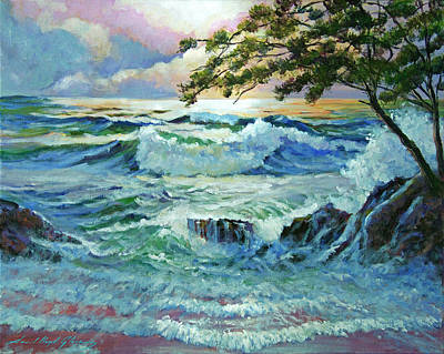 Matsushima Coast Poster by David Lloyd Glover