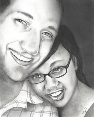 Matt And Jasmine Poster by AC Williams