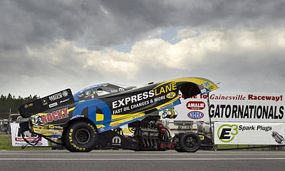 Matt Hagan Top Fuel Poster