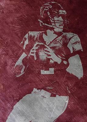 Matt Ryan Atlanta Falcons Poster by Joe Hamilton