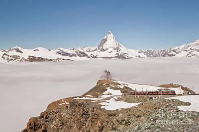 Matterhorn And Fog Poster
