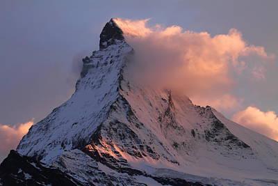 Matterhorn At Dusk Poster