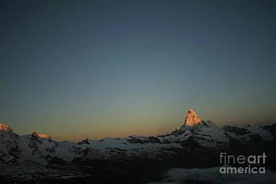 Matterhorn At Sunrise Poster
