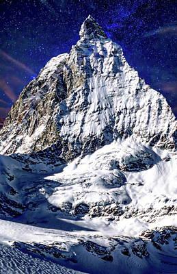 Matterhorn At Twilight Poster