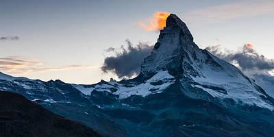 Matterhorn Lights Poster by Konstantin Dikovsky