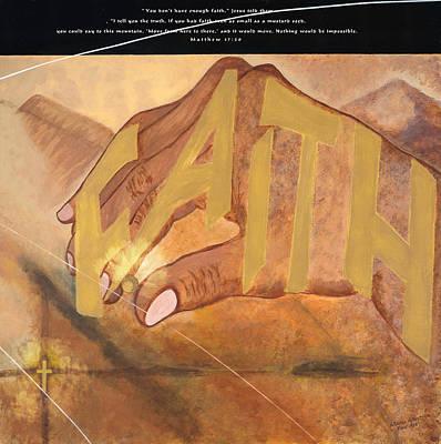 Matthew 17 20 Poster
