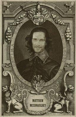 Matthew Mcconaughey   Poster by Serge Averbukh