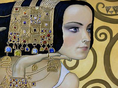 Mavlo - Klimt B Poster by Valeriy Mavlo