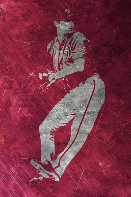 Max Scherzer Washington Nationals Art Poster by Joe Hamilton