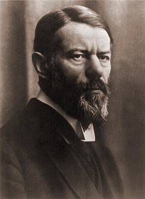 Max Weber 1864-1920, German Political Poster