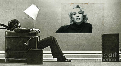 Maxell Ad Blown Away, Marilyn Monroe Poster