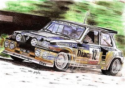 Maxi Turbo Poster by Leonardo Baigorria