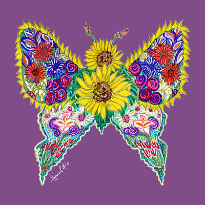 May Butterfly Poster
