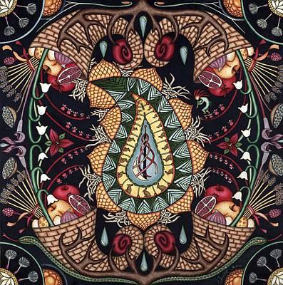 May Mandala Or Fertility Poster