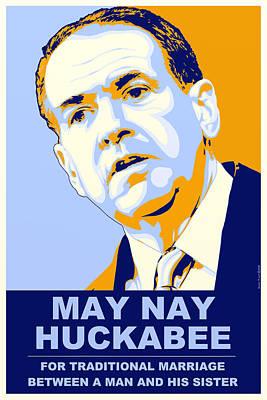 May Nay Huckabee Poster by Randell Trulson