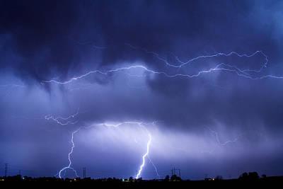 May Showers - Lightning Thunderstorm 5-10-2011 Poster