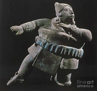 Mayan Athlete, 700-900 A.d Poster