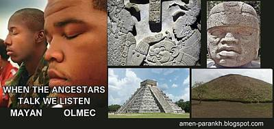 Mayan Olmec Poster