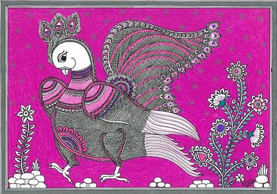 Mayur - Rani Pink Poster