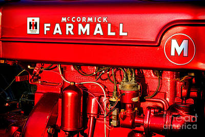 Mc Cormick Farmall M Poster by Olivier Le Queinec