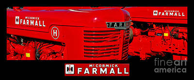 Mc Cormick Farmall Poster Poster by Olivier Le Queinec