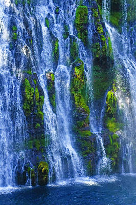 Poster featuring the photograph Mcarthur-burney Falls by Sherri Meyer