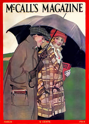 Mccalls March 1914 Poster