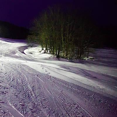 Mccauley Evening Snowscape Poster by David Patterson