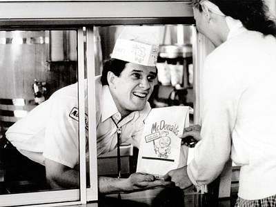 Mcdonalds Restaurant Crew Member Poster