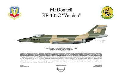 Mcdonnell Rf-101c Voodoo Poster