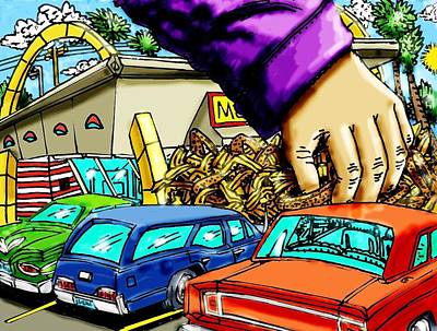 Mcds Takeout Poster