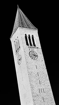 Mcgraw Tower #2 Poster by Stephen Stookey