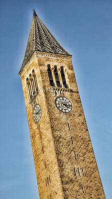 Mcgraw Tower Poster by Stephen Stookey