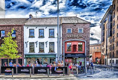 Mchugh's Bar, Belfast Poster