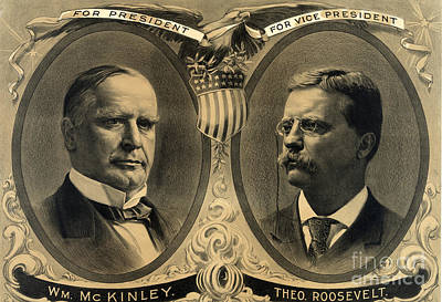 Mckinley-roosevelt Campaign Poster, 1900 Poster