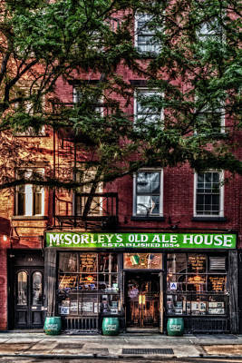 Mcsorley's Old Ale House Nyc Poster