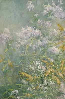 Meadow Flowers Poster by John Henry Twachtman