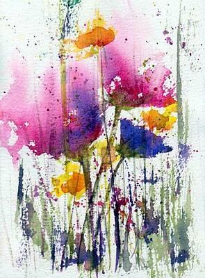 Meadow Medley Poster by Anne Duke