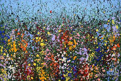 Wildflowers Poster by Sharon Patterson