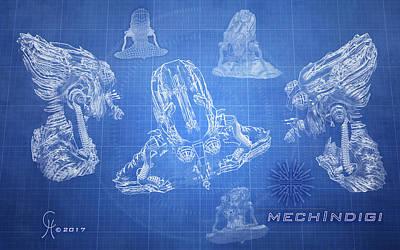 mechIndigi #1 Poster
