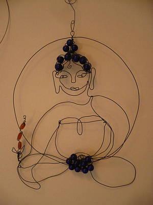 Medicine Buddha Poster by Live Wire Spirit