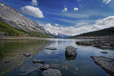 Medicine Lake, Jasper Poster