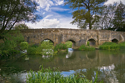 Medieval Bridge Poster by Scott Carruthers