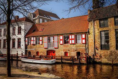 Medieval Bruges  Poster