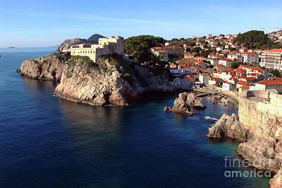Medieval Fortresses Lovrijenac And Bokar Dubrovnik Poster
