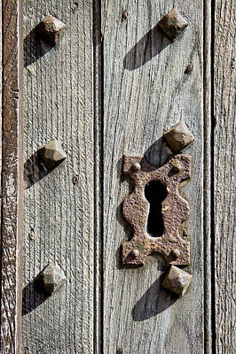 Medieval Keyhole Poster