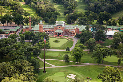 Poster featuring the photograph Medinah Country Club by Adam Romanowicz