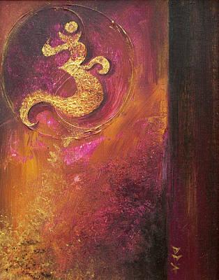 Meditations Poster by Dina Dargo