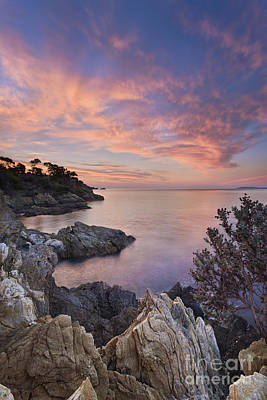 Mediterranean Sunrise Poster by Rod McLean